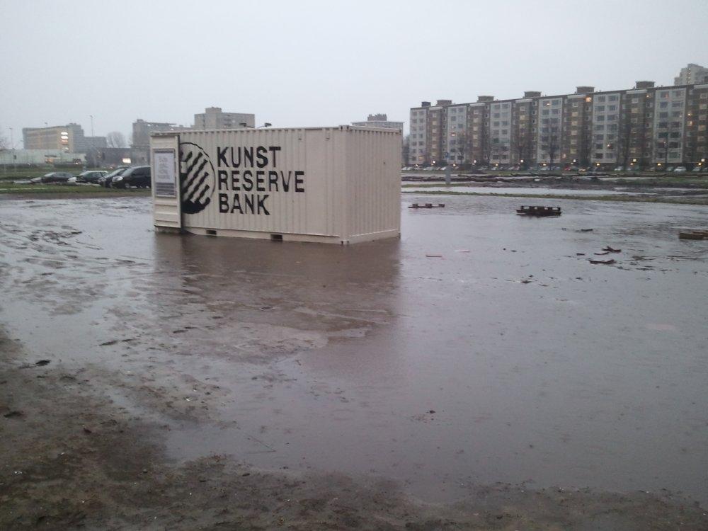 modderpoel op locatie